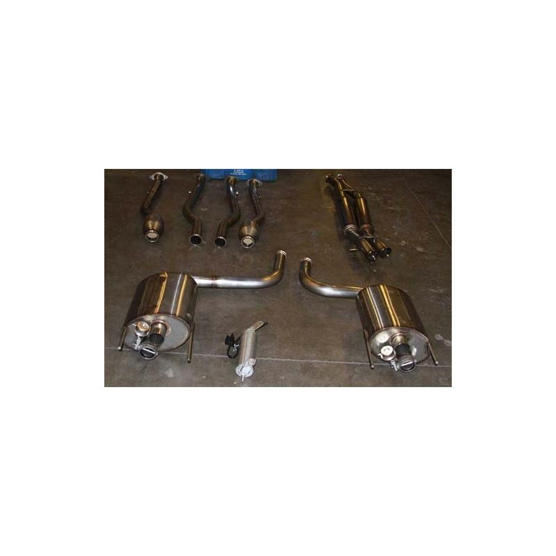 PPE Engineering Lexus IS - F True Dual Exhaust - w