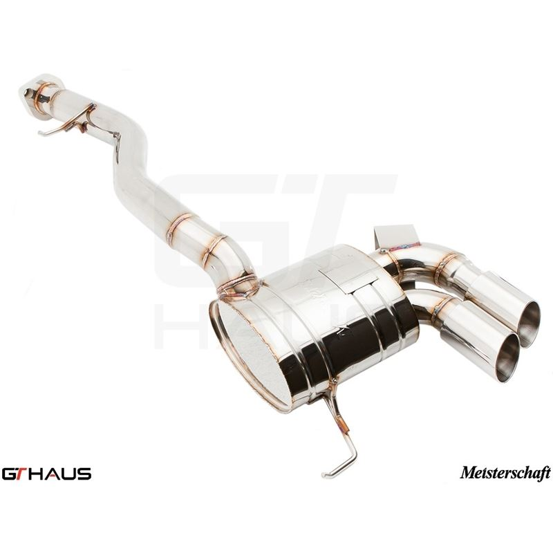 GTHAUS HP Touring Exhaust- Stainless- BM0121101