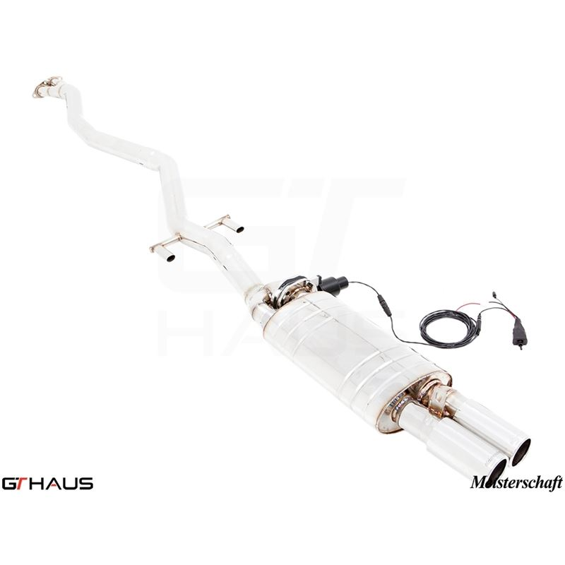 GTHAUS GTC Exhaust (EV Control) Full Cat-back- Sta