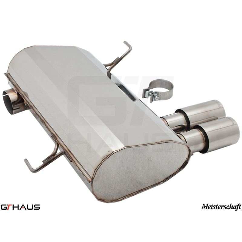 GTHAUS GT Racing Exhaust- Stainless- BM0351201