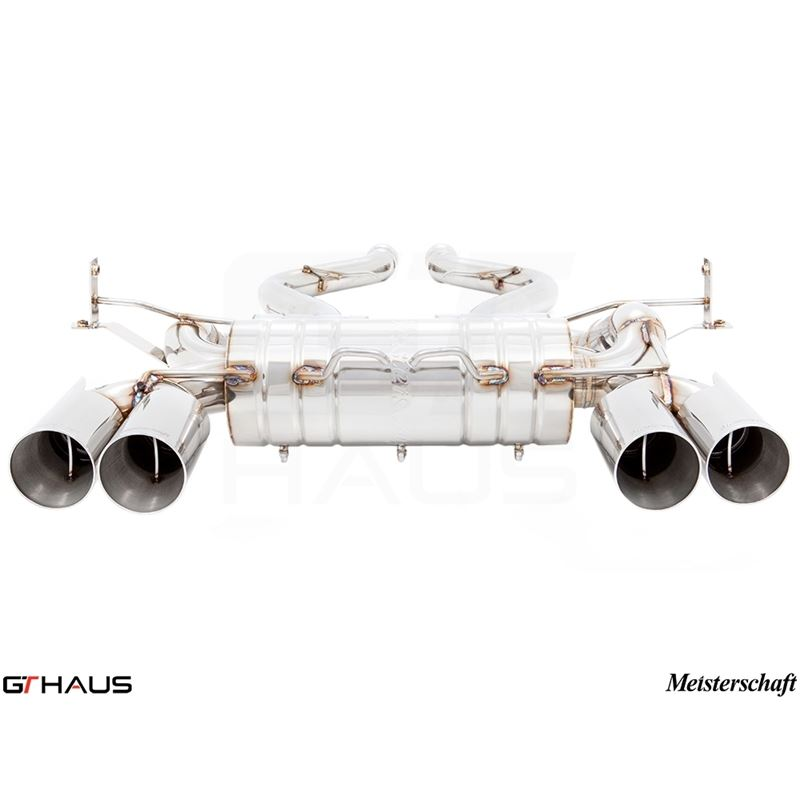 GTHAUS GT2 Racing Exhaust (Includes SUS SR Pipes)-