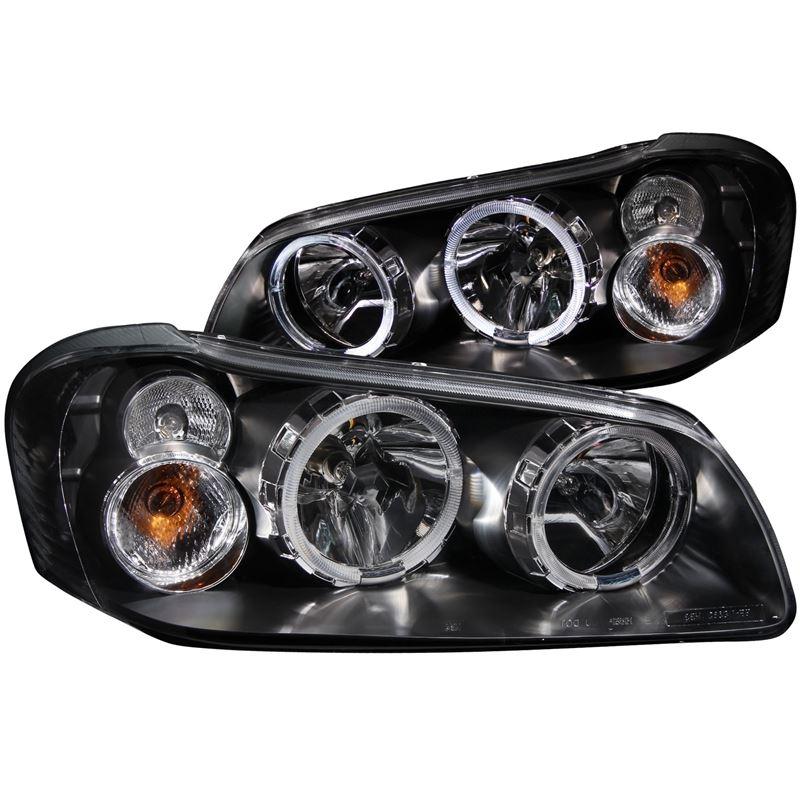 ANZO 2002-2003 Nissan Maxima Crystal Headlights w/