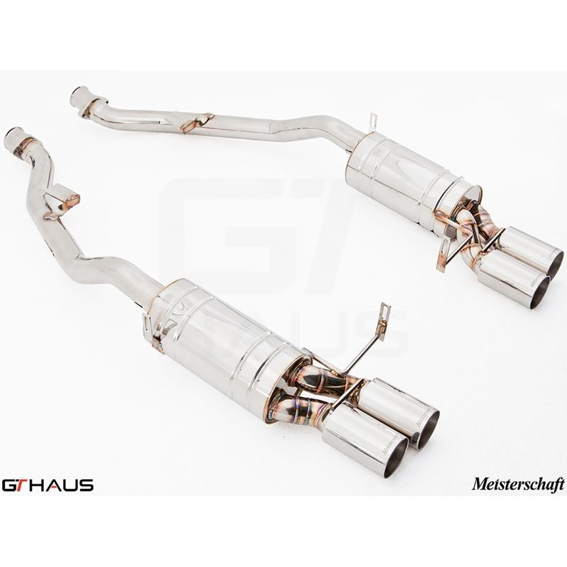 GTHAUS HP Touring Exhaust- Stainless- BM2011104
