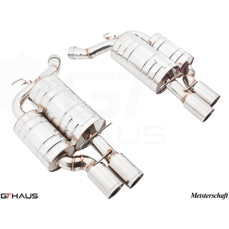 GTHAUS GTS Exhaust (Ultimate Performance)- Stainle