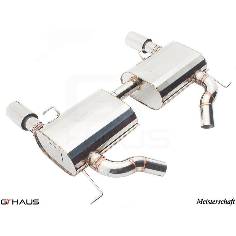 GTHAUS GT Racing Exhaust- Stainless- BM0411202