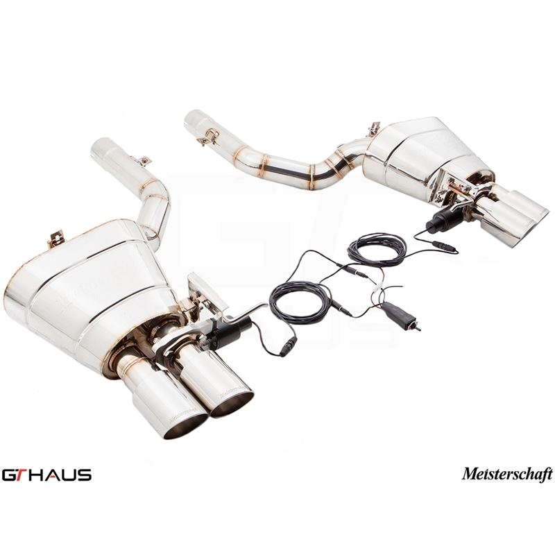 GTHAUS GTC Exhaust (EV Control)- Stainless- BM2511