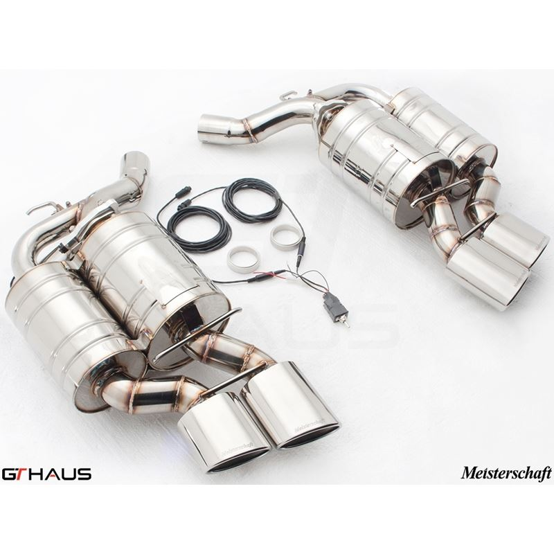 GTHAUS GTC Exhaust (EV Control)- Stainless- BM1311