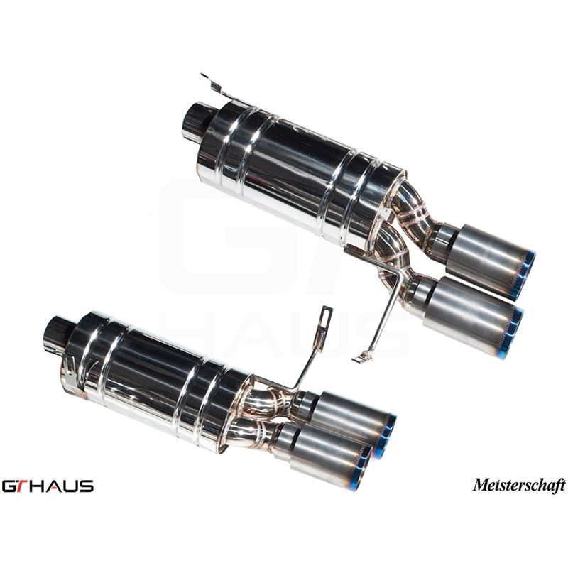GTHAUS GT Racing Exhaust- Titanium- BM1922204