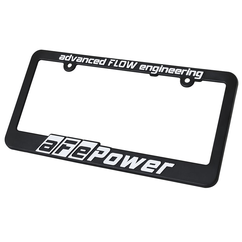 aFe Promotional POWER License Plate Frame (40-1009