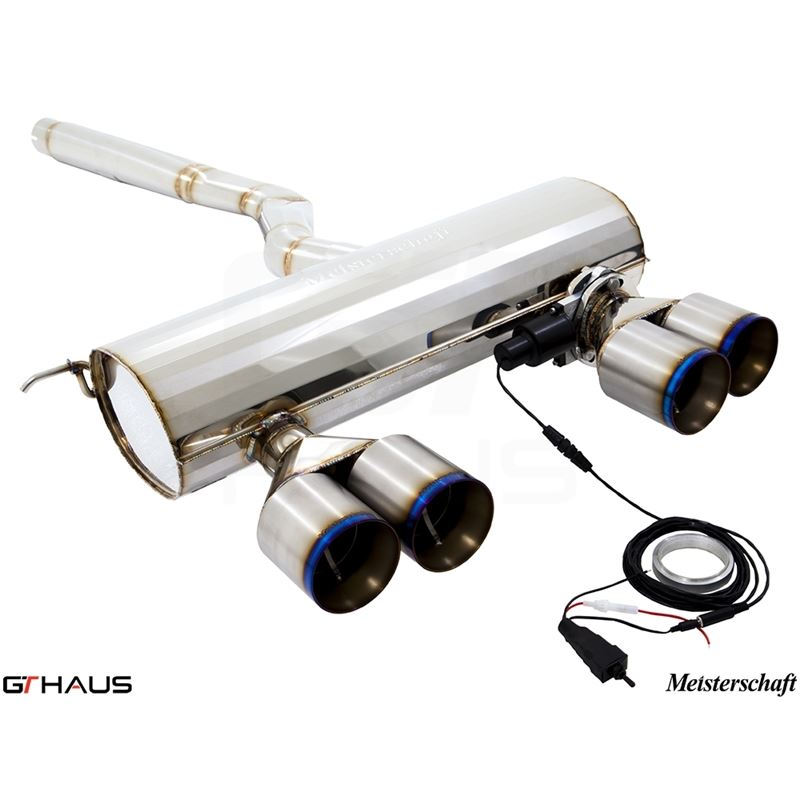 GTHAUS GTC Exhaust (EV Control) Includes Optional