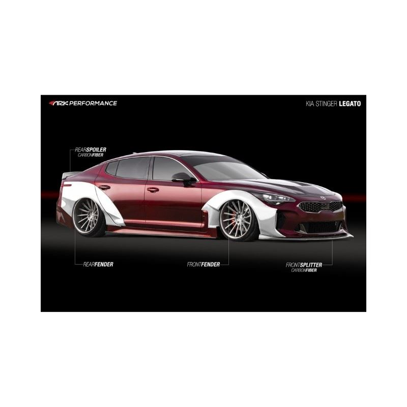 Ark Performance Legato Wide Body Front Driver Side