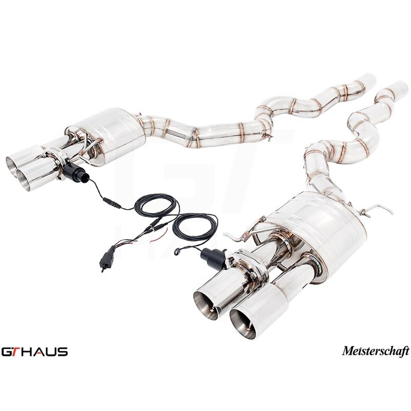 GTHAUS GTC Exhaust (EV Control)- Stainless- BM1211