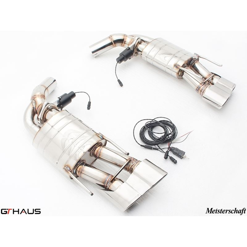 GTHAUS GTC Exhaust (EV Control)- Stainless- ME1021