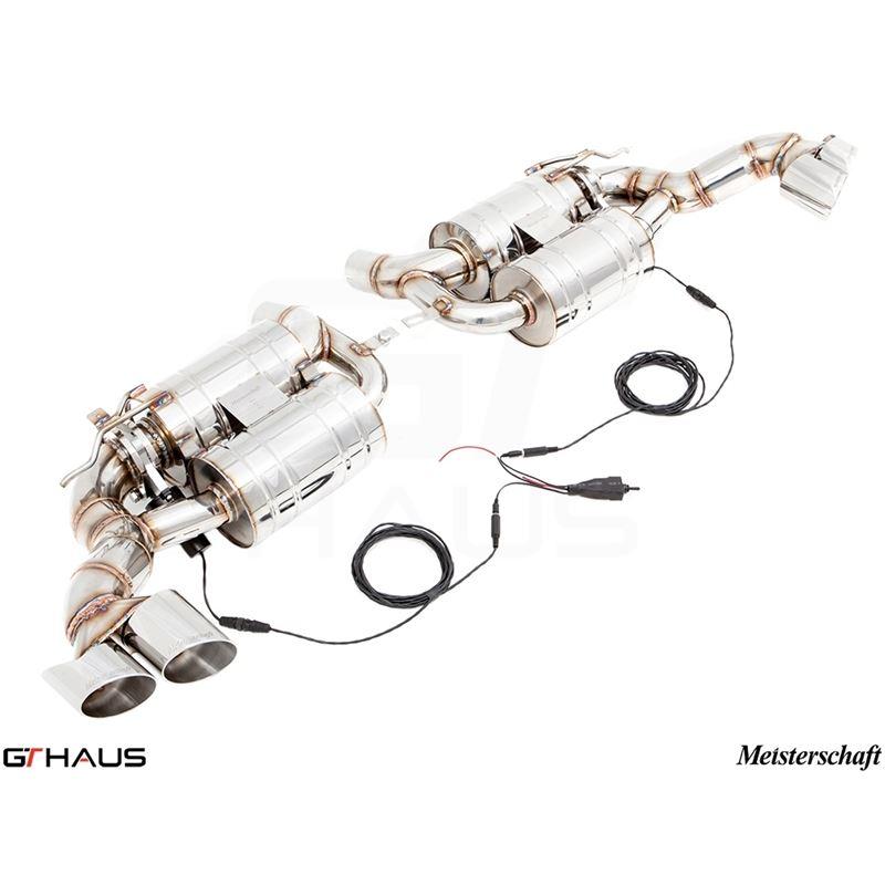 GTHAUS GTC Exhaust (EV Control)- Stainless- BM2341