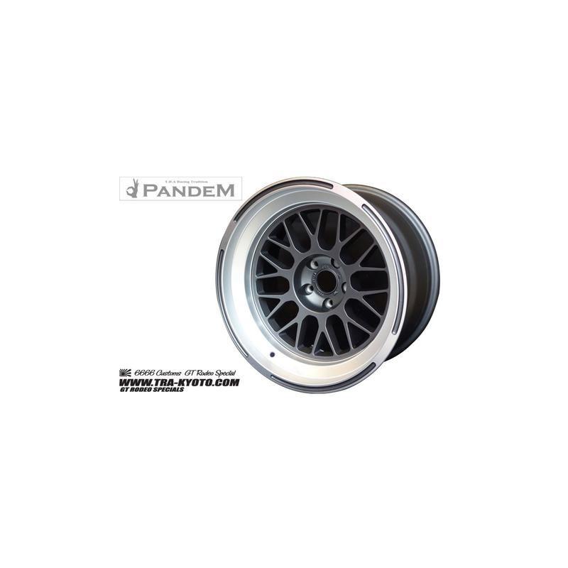PANDEM 6666 WHEELS 18x11 -40, 5-100, GUNMETAL (668