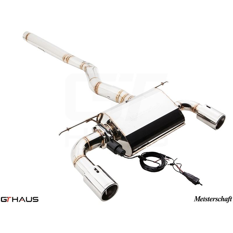 GTHAUS GTC Exhaust (EV Control)- Stainless- BM3111