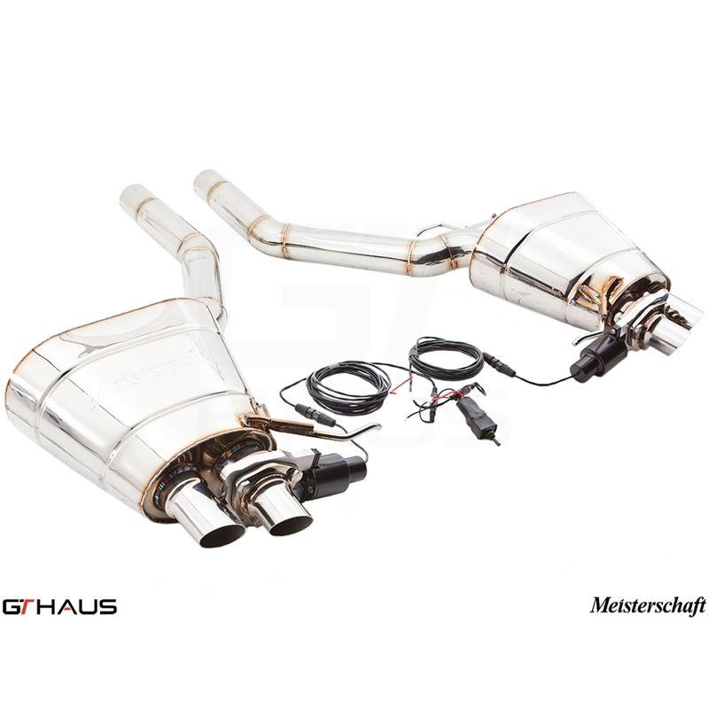 GTHAUS GTC Exhaust (EV Control)- Stainless- BM1821