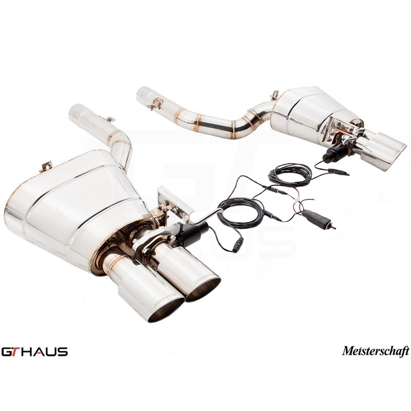 GTHAUS GTC Exhaust (EV Control)- Stainless- BM1511