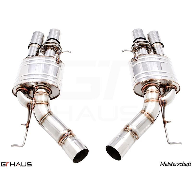 GTHAUS Super Light GT Racing Exhaust- Stainless- B
