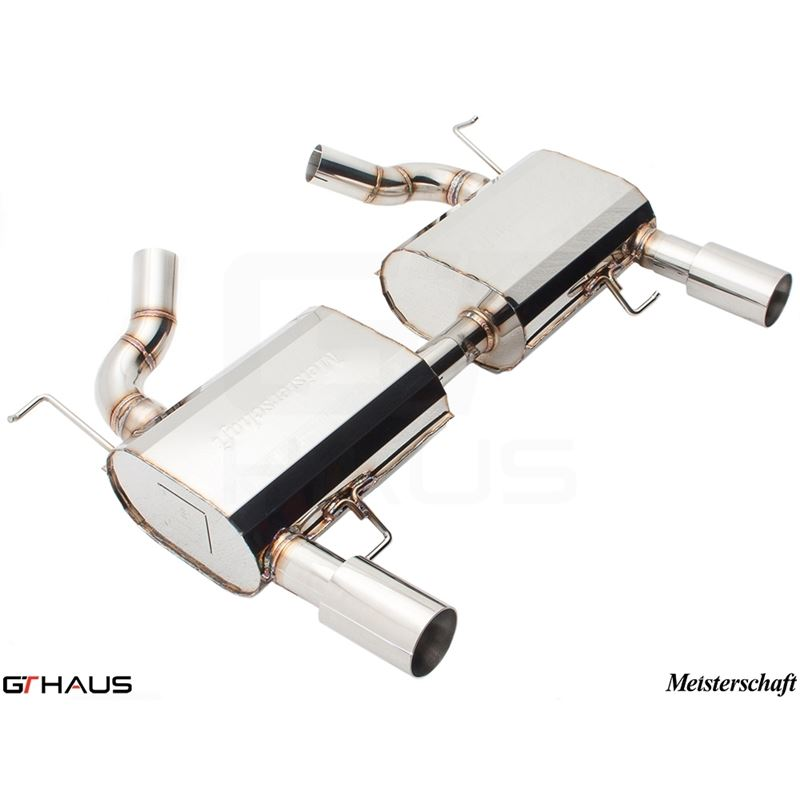 GTHAUS HP Touring Exhaust- Stainless- BM0421102