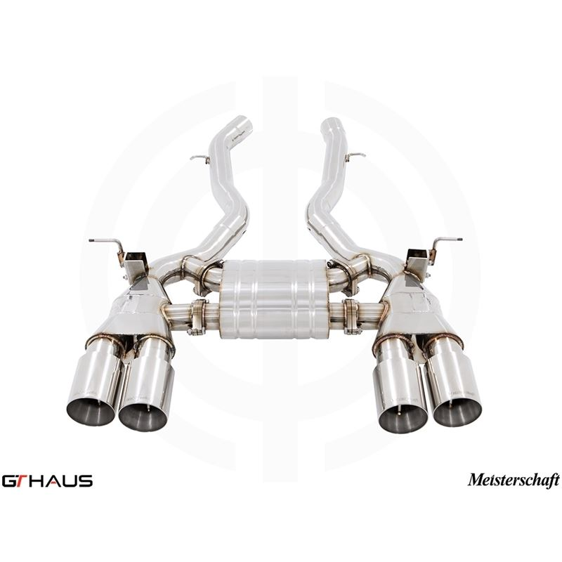 GTHAUS GT Racing Exhaust- Stainless- BM3211205