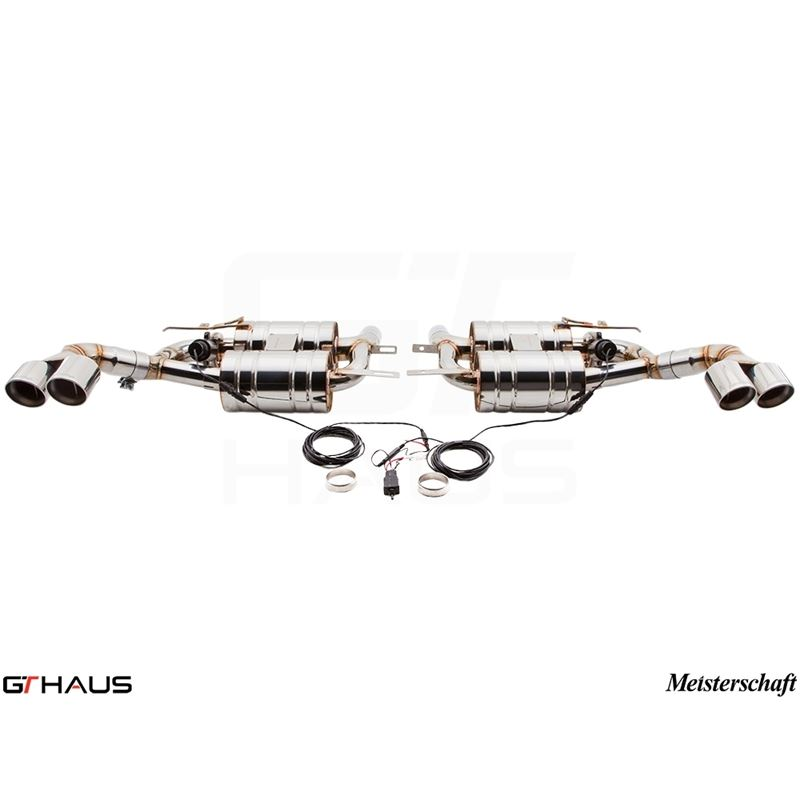 GTHAUS GTC Exhaust (EV Control)- Stainless- BM2331