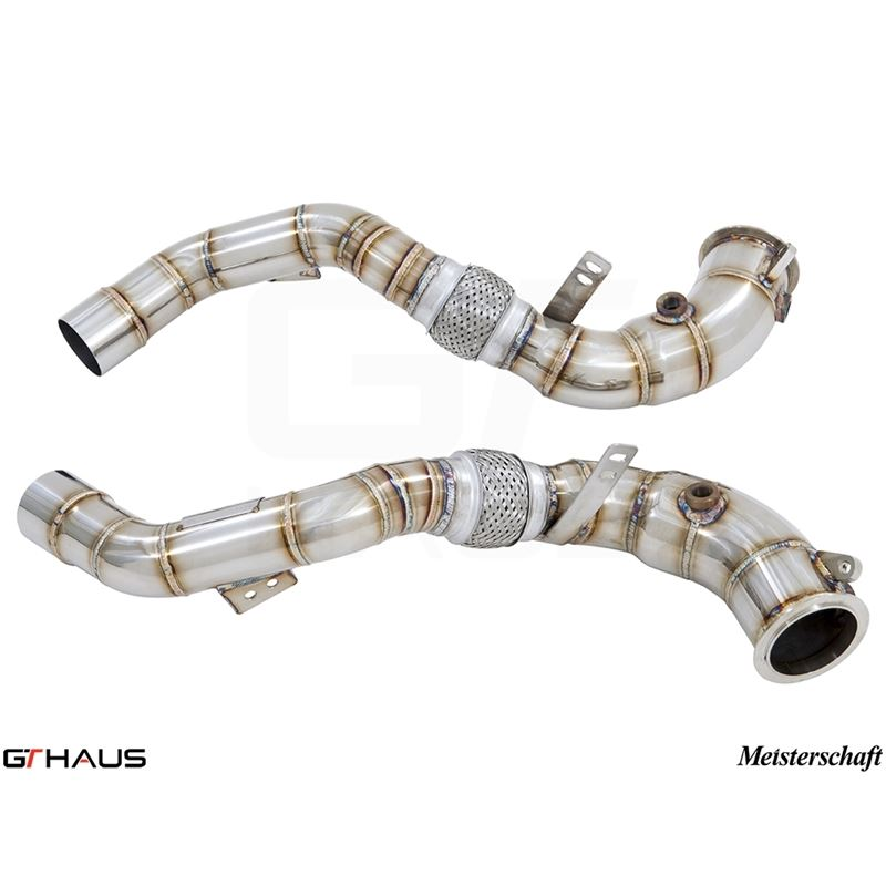 GTHAUS Down Pipe Section - cat elimination (90mm w