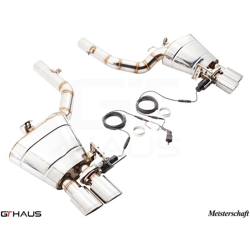 GTHAUS GTC Exhaust (EV Control)- Stainless- BM2521