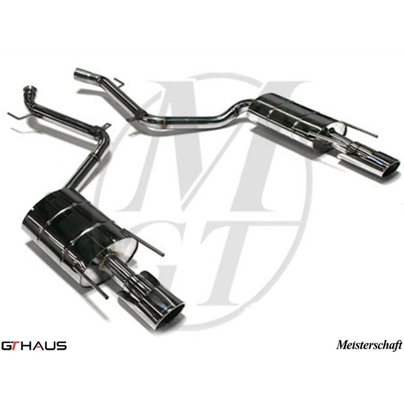GTHAUS HP Touring Exhaust- Stainless- ME0811131