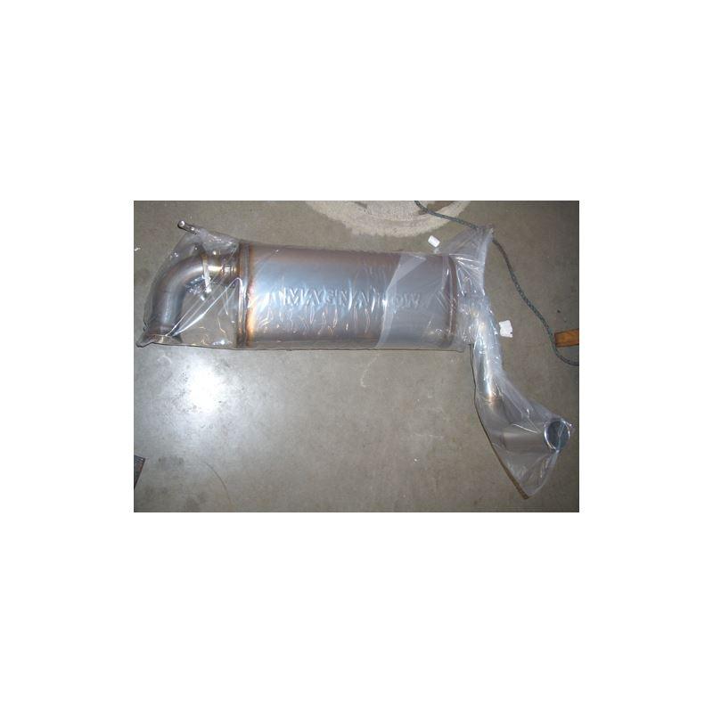 "PPE Engineering MR2 Spyder 2.5"" single tip mu"