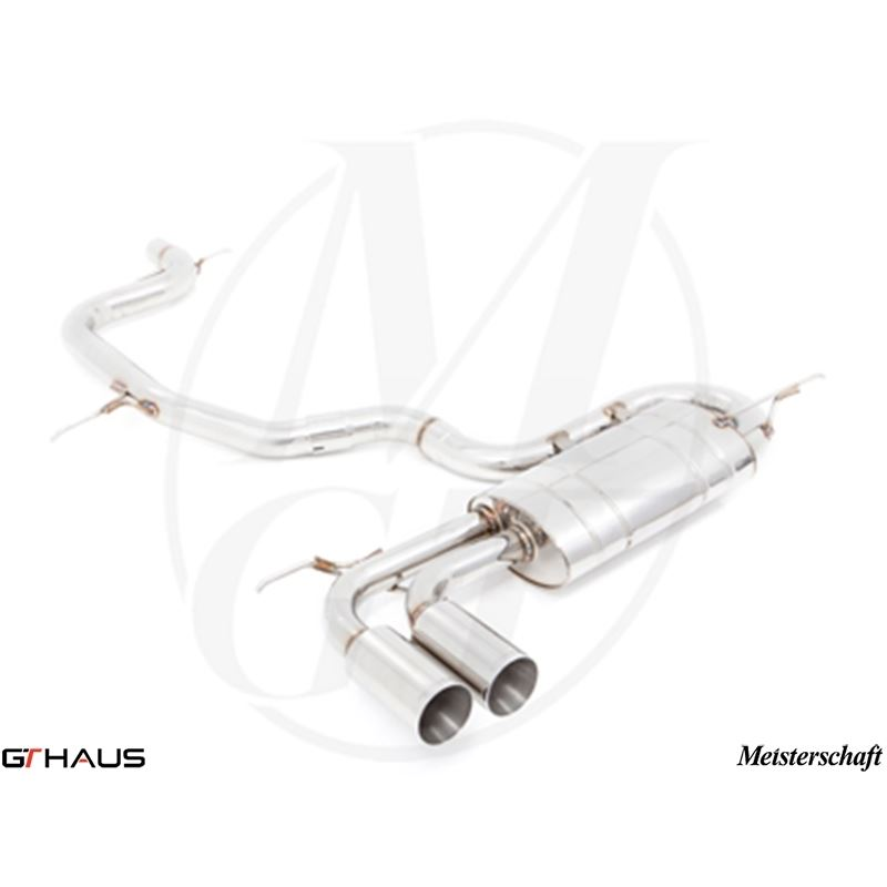 GTHAUS GT Racing Exhaust- Stainless- AU0211201