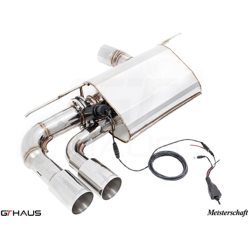 GTHAUS GTC Exhaust (EV Control)- Stainless- BM2821