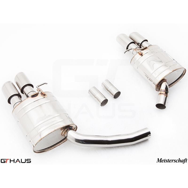 GTHAUS GT Racing Exhaust- Stainless- AU0821204