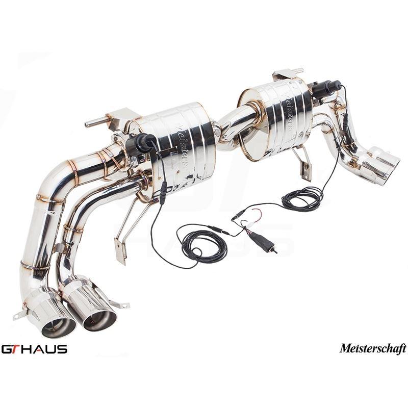 GTHAUS GTC Exhaust (EV Control)- Stainless- AU0411