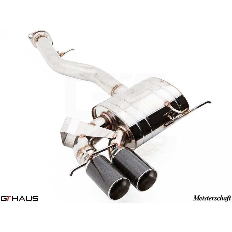 GTHAUS GT Racing Exhaust- Stainless- BM0121201