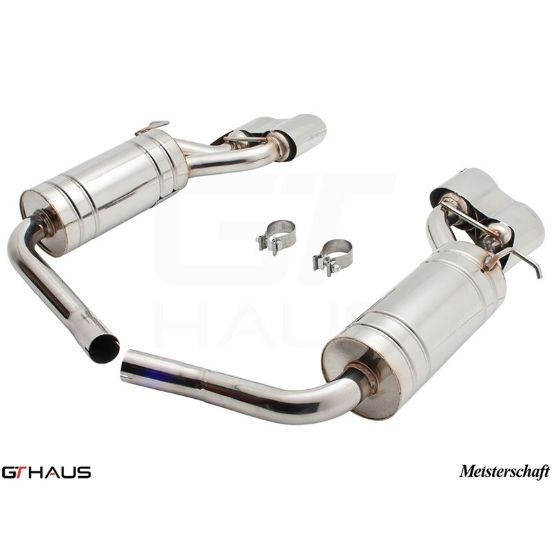GTHAUS GT Racing Exhaust- Stainless- ME1121217