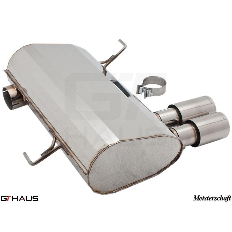 GTHAUS GT Racing Exhaust- Stainless- BM0341201