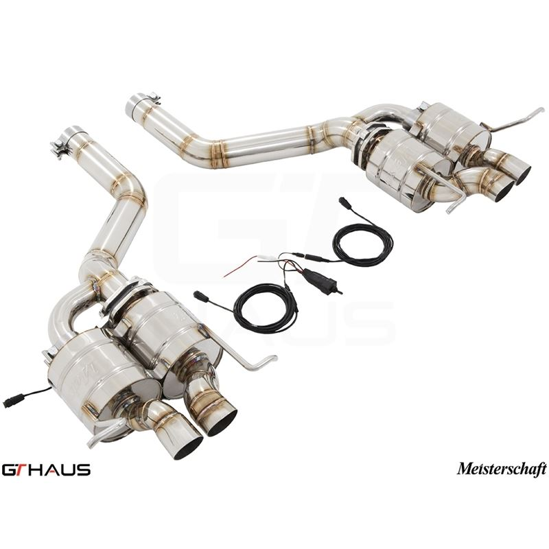 GTHAUS GTC Exhaust (EV Control)- Stainless- BE0111